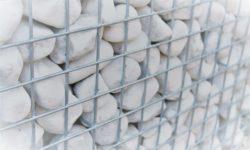 ART-fences Carrara Bianco keien