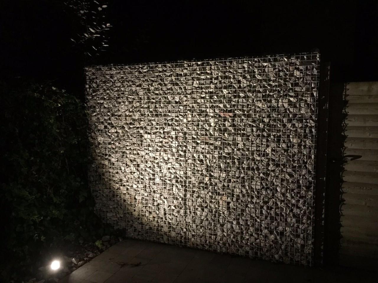 ART-fences schanskorven - steenkorven