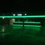 ART-fences, glasbrokken, LED verlichting, schanskorven, steenkorven