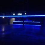 ART-fences glasbrokken, LED verlichting, schanskorven, steenkorven