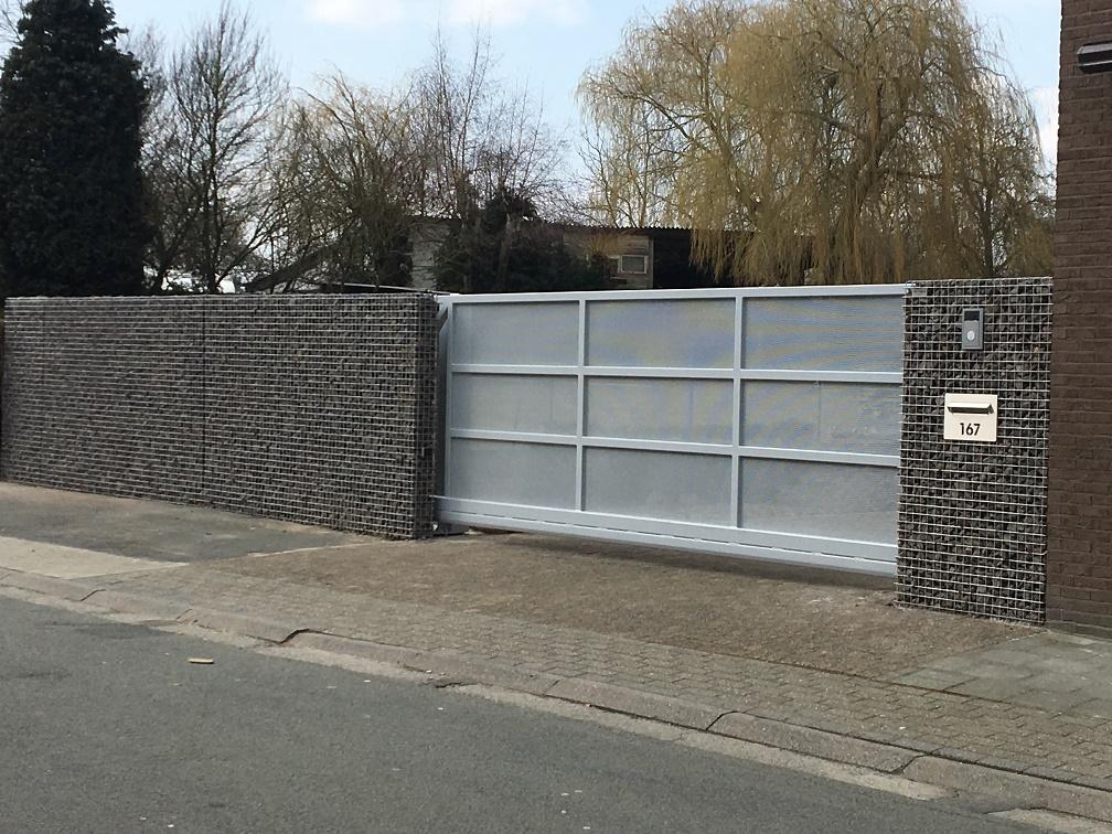 poorten op maat, moderne poorten, design poorten