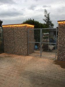 schanskorven, steenkorven, verlichte steenkorven, standaard poorten
