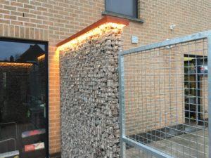 LED-verlichting, verlichte schanskorven