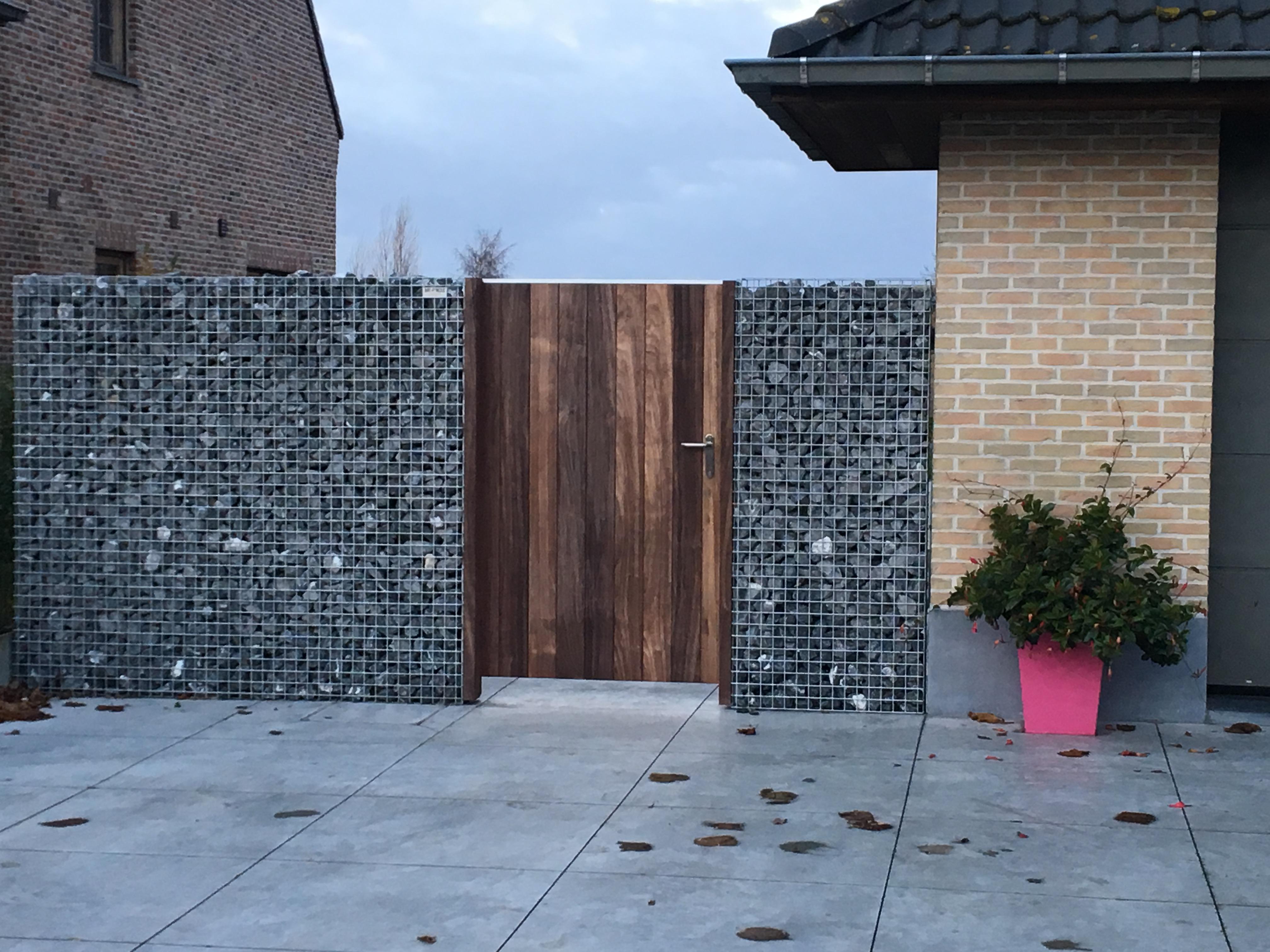 houten tuinpoort, toegangspoort