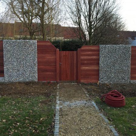 tuinpoortje, toegangspoort, houten poort, poorten op maat