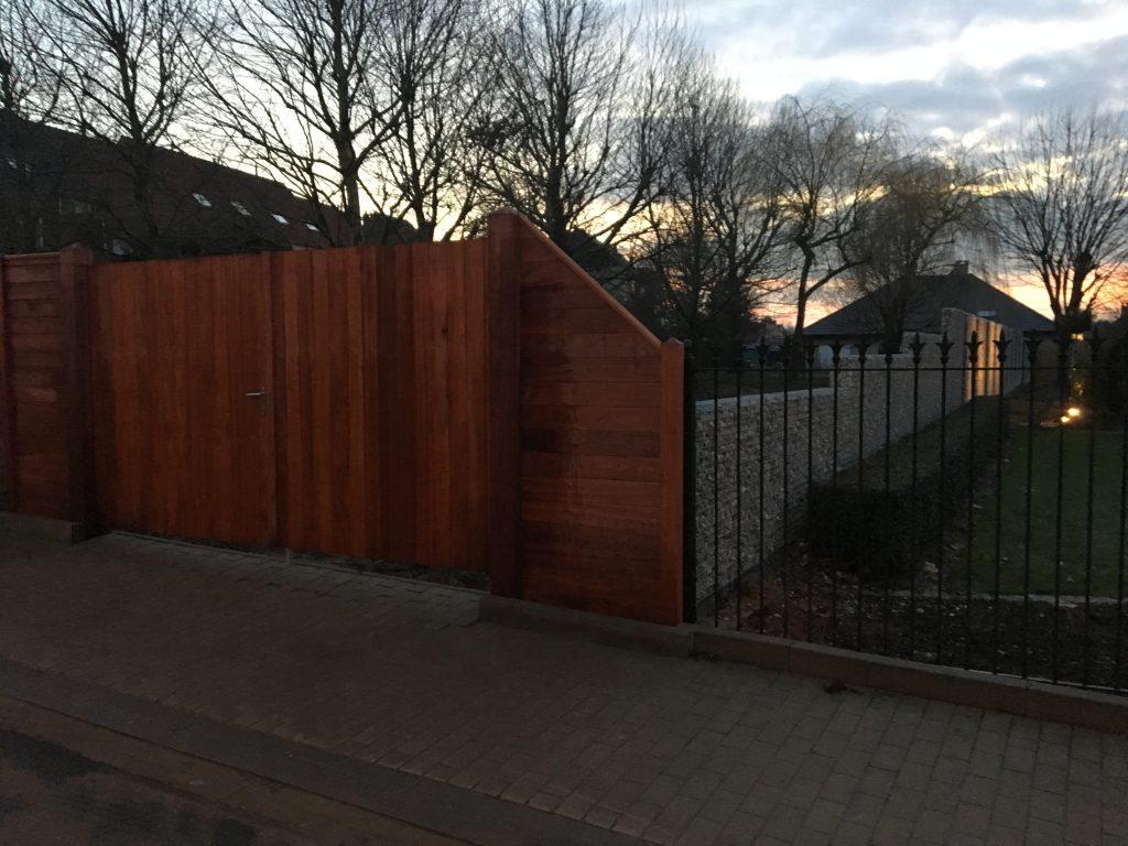 houten poort