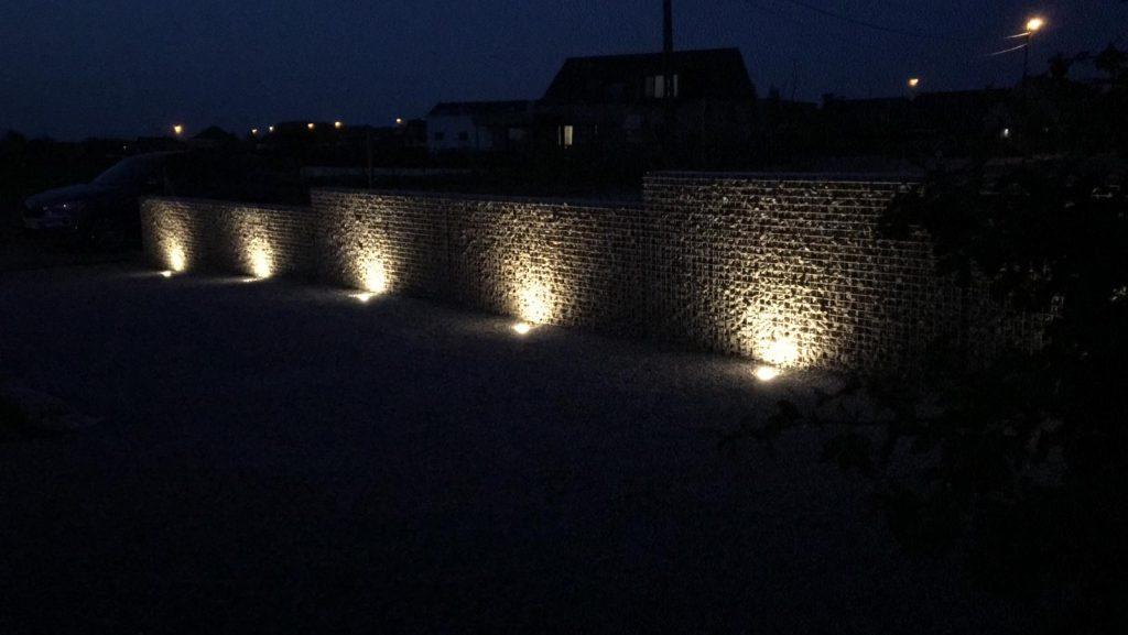 verlichting, steenkorven