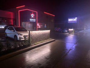steenkorven, verlichting, LED-verlichting - ART-fences