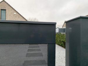 moderne schuifpoort, toegangspoort, design poort, ART-fences