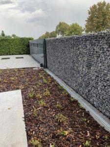 ART-fences steenkorven met grijze Ardenner