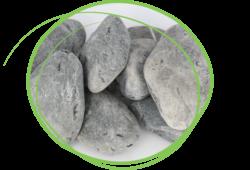 breuksteen nero ebano 40-60 droog sierkeien