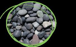 siergrind, keien, Black Pearl 8/16R droog, ART-fences